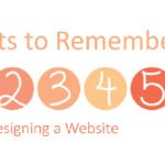 6 points to remember while designing a website