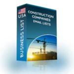 Construction Companies Email List | Building Contractors Database