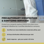 Why You Need Disinfection services in Dubai