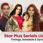 List of all Star Plus Serials in 2020