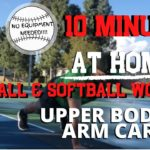 10 Minute ARM / UPPER BODY Workout for YOUTH Baseball & Softball Players. [MLB Player Follow Along]
