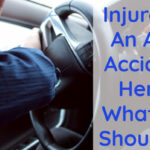 Injured In An Auto Accident