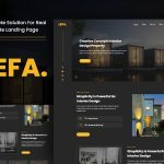 Portfolio Website Landing Page Template